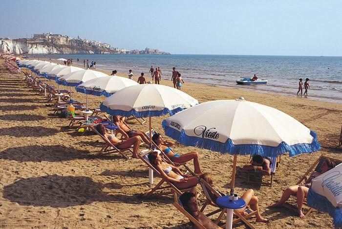 Hotel Pellegrino Palace - Servizio Spiaggia